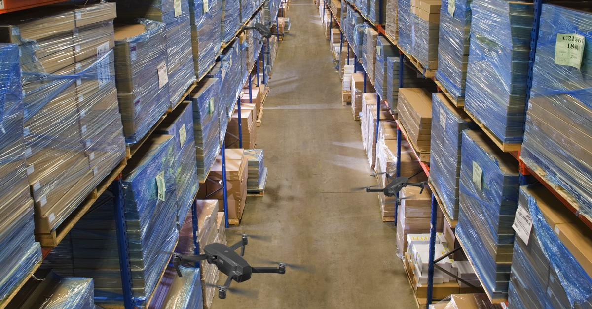 Why Drones are Ideal for Cycle Counting Full Pallets – and Eventually Even Partials!